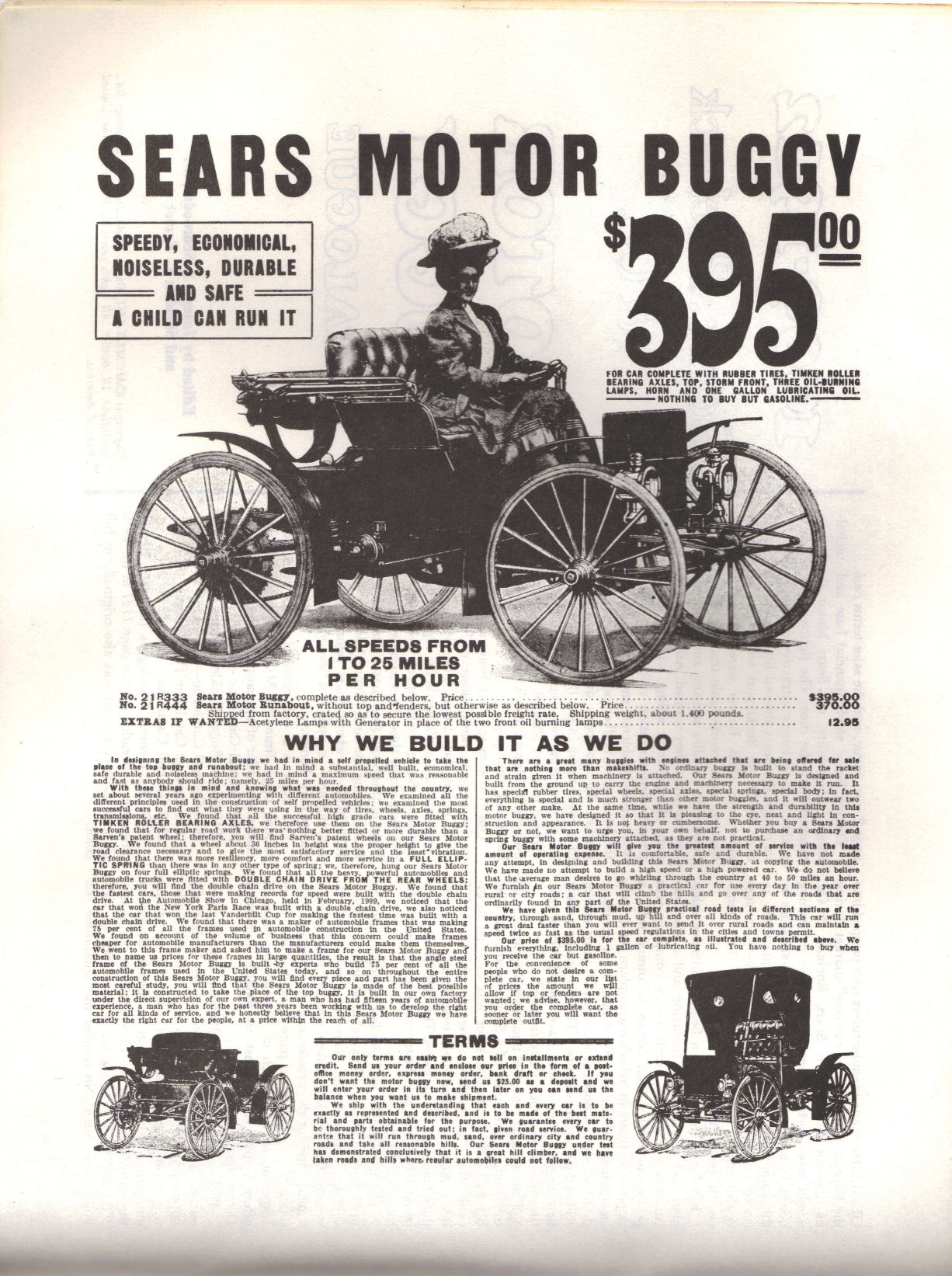 bff24c1740 This is an advertisement for a Sears from the 1909 Fall Catalogue Click on  the picture to see the full size.